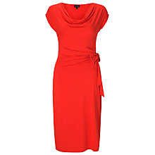 Buy Phase Eight Kourtney Cowl Neck Dress, Paprika Online at johnlewis.com