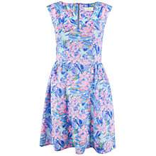 Buy Almari Sea Floral Scuba Dress, Multi Online at johnlewis.com