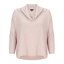 Buy Phase Eight Keris Cowl Neck Top, Pebble Marl Online at johnlewis.com