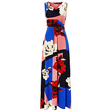 Buy Phase Eight Julia Floral Cowl Neck Maxi Dress, Multi Online at johnlewis.com