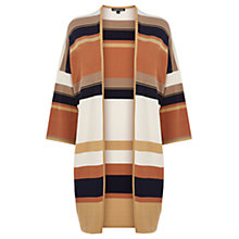 Buy Warehouse Striped Kimono Cardigan, Multi Online at johnlewis.com