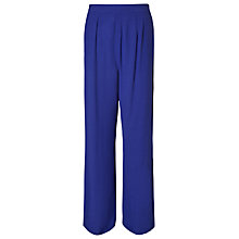 Buy Phase Eight Tabitha Wide Leg Trousers, Electric Indigo Online at johnlewis.com