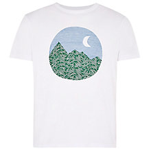 Buy HYMN Birchgrove Graphic Print T-Shirt, White Online at johnlewis.com