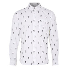 Buy HYMN Millyn Jim the Skier Shirt, White Online at johnlewis.com