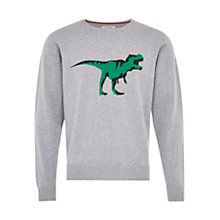 Buy HYMN T-Rex Exclusive Jumper, Grey Online at johnlewis.com