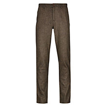 Buy HYMN Deniro Trousers, Brown Online at johnlewis.com