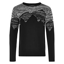 Buy HYMN Baumaris Mountain Jumper, Black/White Online at johnlewis.com