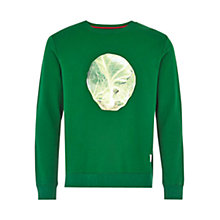 Buy HYMN Sprout Sweatshirt, Green Online at johnlewis.com