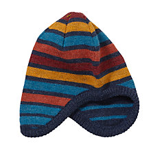 Buy John Lewis Bar Stripe Trapper Hat, Multi Online at johnlewis.com