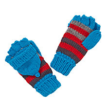 Buy John Lewis Chunky Stripe Flip Gloves, Multi Online at johnlewis.com