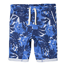 Buy Mango Kids Boys' Palm-Print Bermuda Jogging Shorts Online at johnlewis.com