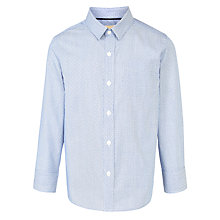 Buy John Lewis Boy Stripe Spot Shirt, Blue Online at johnlewis.com