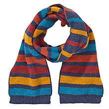 Buy John Lewis Bar Stripe Scarf, Multi Online at johnlewis.com
