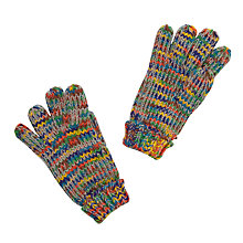 Buy John Lewis Space Dye Beanie Gloves, Multi Online at johnlewis.com