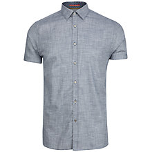 Buy Ted Baker Bobstar Cotton Linen Shirt Online at johnlewis.com