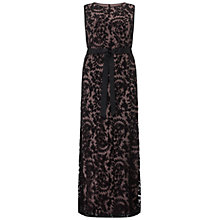 Buy Adrianna Papell Plus Size Mermaid Gown, Black Online at johnlewis.com
