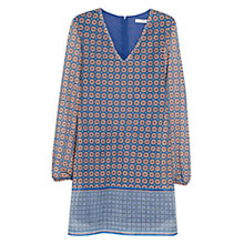 Buy Mango Geometric Print Dress, Multi Online at johnlewis.com