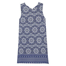 Buy Mango Print Dress, Navy Online at johnlewis.com