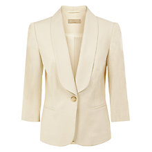 Buy Planet Linen Blend Tailored Jacket Online at johnlewis.com
