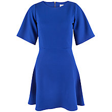 Buy Closet Waffle A Line Dress, Blue Online at johnlewis.com