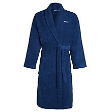 Buy Gant Cotton Robe, Blue Online at johnlewis.com