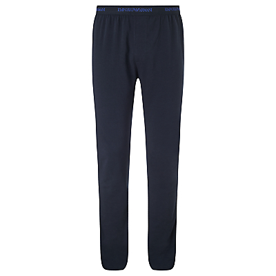 Emporio Armani Jersey Lounge Pants, Navy