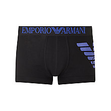 Buy Emporio Armani Eagle Trunks Online at johnlewis.com