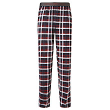 Buy Emporio Armani Jersey Check Pyjama Bottoms, Multi Online at johnlewis.com