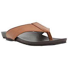 Buy Dune Inkfish Leather Toe Post Sandals Online at johnlewis.com