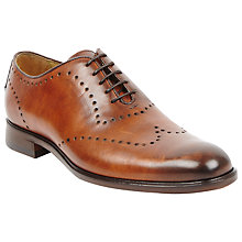 Buy Oliver Sweeney Gio Leather Brogue Oxford Shoes Online at johnlewis.com