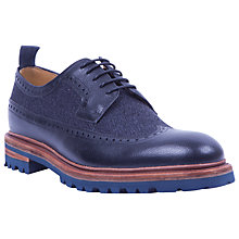 Buy Oliver Sweeney Ulmann Welted Leather Shoes, Blue Online at johnlewis.com