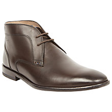 Buy Oliver Sweeney Temes Leather Chukka Boots, Brown Online at johnlewis.com