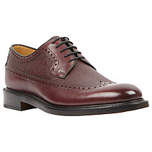 Buy Oliver Sweeney Hoagland Leather Shoes, Burgundy Online at johnlewis.com