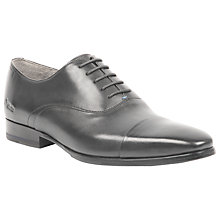 Buy Oliver Sweeney Vechten Leather Oxford Shoes, Black Online at johnlewis.com