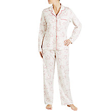 Buy John Lewis Multi Star Print Pyjama Set, Ivory/Multi Online at johnlewis.com