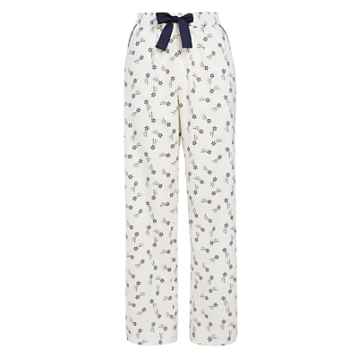 John Lewis Shooting Star Pyjama Pants, Ivory Multi
