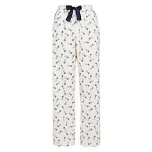Buy John Lewis Shooting Star Pyjama Pants, Ivory Multi Online at johnlewis.com