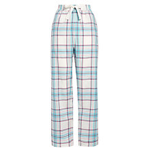 Buy John Lewis Check Pyjama Pants, Blue Online at johnlewis.com