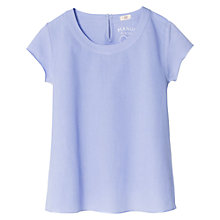 Buy Mango Kids Girls' Keyhole Detail T-Shirt Online at johnlewis.com