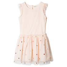 Buy Mango Kids Girls' Tulle Skirt Dress, Pastel Pink Online at johnlewis.com