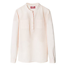 Buy Mango Kids Girls' Mandarin Collar Shirt Online at johnlewis.com