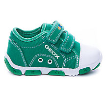 Buy Geox Balu Twin Rip-Tape Canvas Trainers Online at johnlewis.com