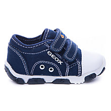 Buy Geox Balu Canvas Trainers Online at johnlewis.com