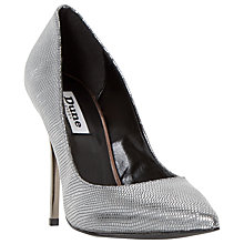 Buy Dune Aimey Leather High Heeled Stiletto Court Shoes Online at johnlewis.com