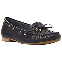 Buy Dune Goff Leather Moccasin Shoes Online at johnlewis.com