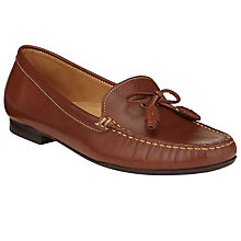 Buy John Lewis Ginny Leather Tassel Moccasins Online at johnlewis.com