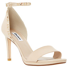 Buy Dune Missie Barely There Ankle Strap Leather Sandals Online at johnlewis.com