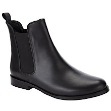 Buy Collection WEEKEND by John Lewis Percy Chelsea Boots, Black Leather Online at johnlewis.com