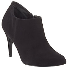 Buy John Lewis Willow Suede Shoe Boots, Black Online at johnlewis.com