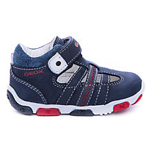 Buy Geox Balu High Top Trainers, Navy Online at johnlewis.com